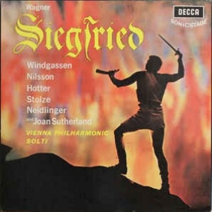 Wagner - Vienna Philharmonic Orchestra - Solti - Siegfried  5 × Vinyl, LP, Stereo